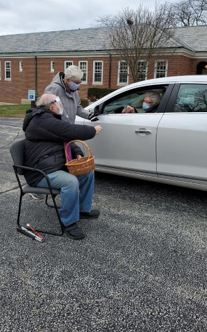 Curbside ministry